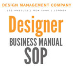 Design Firm Standard Operating Procedure Manual